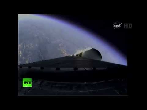 Повторная попытка запуска американского космического корабля Orion.
