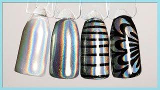 getlinkyoutube.com-Голографический пигмент с Алиэкспресс. Дизайн ногтей: Втирка пигмент ПРИЗМА, МИРАЖ