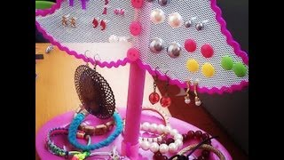 getlinkyoutube.com-DIY ORGANIZADOR DE PENDIENTES