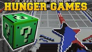 getlinkyoutube.com-Minecraft: WWE STADIUM HUNGER GAMES - Lucky Block Mod - Modded Mini-Game