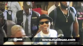VIDEO - Arrivee de WiZKiD Star Boy a Bamako (eXcLuSiViTe)
