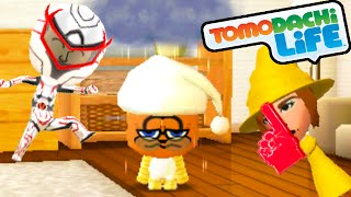 Tomodachi Life 3DS Love Connections, Garfield's Adventure Gameplay Walkthrough PART 45 Nintendo