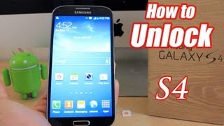 getlinkyoutube.com-How To Unlock Samsung Galaxy S4 - Very simple and Easy!