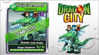 getlinkyoutube.com-Dragon City - Kaiju Tournament [Full Unlock 2015]