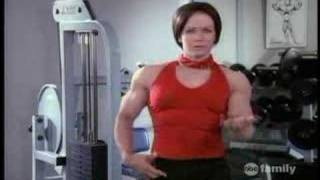 getlinkyoutube.com-Sabrina the Teenage Witch Muscle Growth Magic
