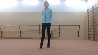 getlinkyoutube.com-Передача : Шаги к Успеху ))) Мелкие прыжки ) ...Rhythmic Gymnastics Training
