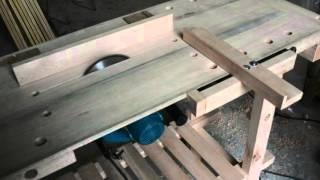getlinkyoutube.com-Banco de carpintero con sierra y carro escuadradora video 12 de manual de autocnstrucción