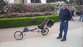 getlinkyoutube.com-Recumbent E-bike Conversion---Some Basic Info on this E-bike