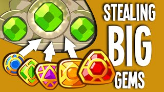"getlinkyoutube.com-""STEALING BIG GEMS!"" 