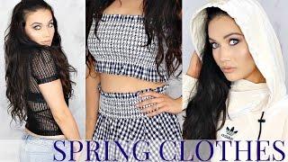 A Very TMI Try on Haul | Spring Clothes | Zara + Adidas