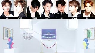 VAV - Spotlight (光) MV + Lyrics Color Coded HanRomEng