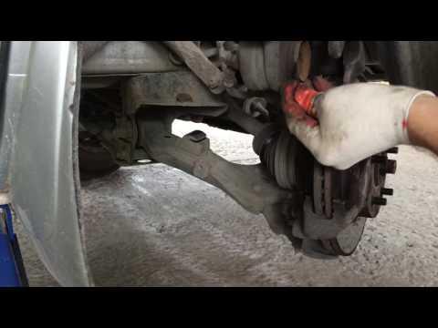 Замена передних тормозных колодок на тойота ноах 2000 года Toyota Noah