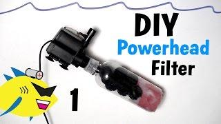 getlinkyoutube.com-How To Make: DIY Powerhead Filter for Aquarium