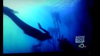 REAL Mermaid on camera