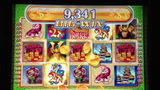 getlinkyoutube.com-Big Win on Far East Fortunes - Life of Luxury Slot Machine