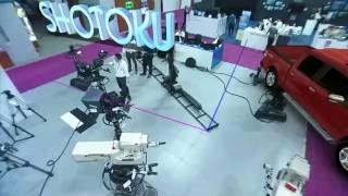 getlinkyoutube.com-Shotoku Broadcast Systems: TK-53L Studio Crane VRII