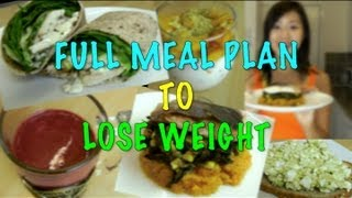 getlinkyoutube.com-Full Meal Plan to Lose Weight (Step by Step Recipes)