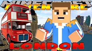 Minecraft - Little Donny Adventures - VACATION TO LONDON AND THE QUEEN w/ DONUT