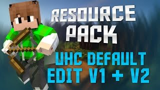 getlinkyoutube.com-Minecraft TossedEm Resource Pack - UHC Default Edit V1 + V2