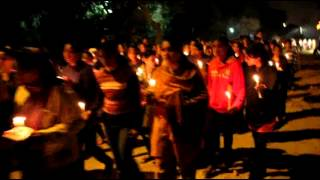 136 views 3 likes, 0 dislikes Prayerful candlelight procession | Delhi church gutted in arson