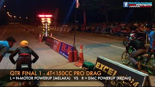 getlinkyoutube.com-MUSC Kulim 201m Drag Race 2015 - 4t150cc Pro Drag