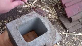 getlinkyoutube.com-Chicken Water Heater (inexpensive and improved)