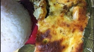 getlinkyoutube.com-طريقة عمل القرنبيط بالبشاميل How to make Béchamel Cauliflower