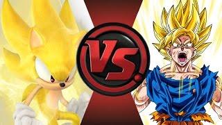 getlinkyoutube.com-SONIC vs GOKU! Cartoon Fight Club Episode 27