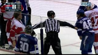 getlinkyoutube.com-Gotta See It: Abdelkader wails on Blunden & incites line brawl