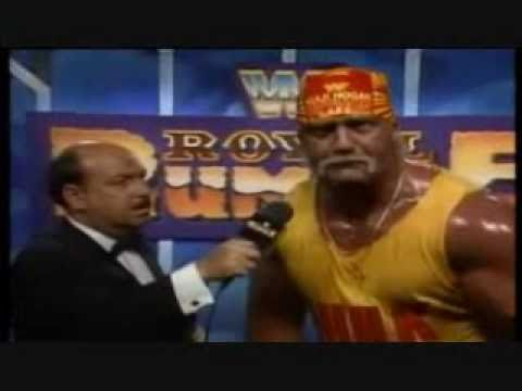 Hogan Botched Royal Rumble 1991 Promo