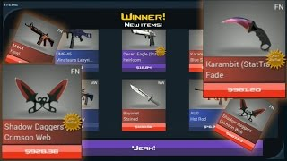 getlinkyoutube.com-Case Clicker | Legendary Jackpot Luck