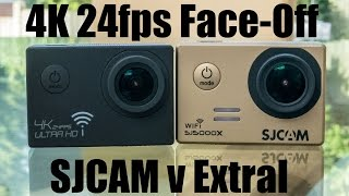 getlinkyoutube.com-4K 24fps Video Comparison: SJCAM 5000x Elite v. Extral-Excelvan SJ9000 4K Ultra