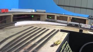 "getlinkyoutube.com-""Inclines and Bridge"" Model Trains Part 28 ""B"""