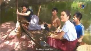 getlinkyoutube.com-ตะลุยกองถ่าย 21.08.58 - เลือดรักทระนง โป๊ปนอนสบายบนเรือ & ศึกษาชีวิตหอยเชอรี่