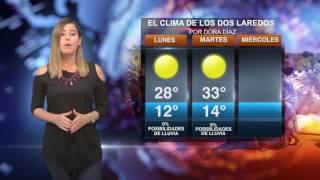 CLIMA LUNES 23 DE ENERO
