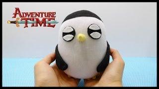 getlinkyoutube.com-Adventure Time Gunter Plush Doll Tutorial !