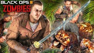 getlinkyoutube.com-Black Ops 3 Zombies - Katana Sword Wonder Weapon! GIANT SPIDERS! DLC 2 Leaked!