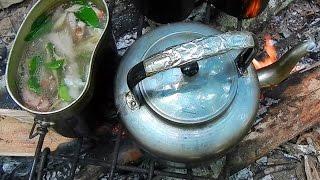 getlinkyoutube.com-ต้มยำป่ากระดูกอ่อนจระเข้ Thai spicy soup with crocodile