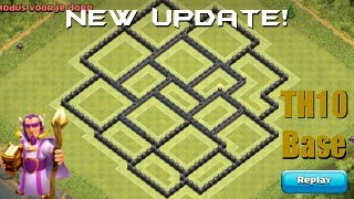 getlinkyoutube.com-NEW UPDATE TH10 Farming Base + REPLAYS - TH11 DECEMBER UPDATE - Clash of Clans