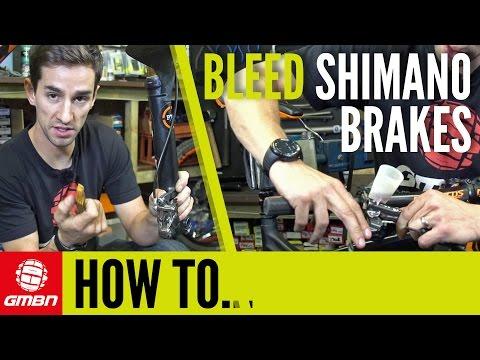 How to Bleed Shimano Disc Brakes – Mountain Bike Maintenance