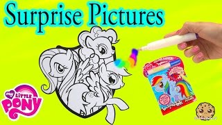 getlinkyoutube.com-My Little Pony Imagine Rainbow Ink Book with Surprise Color Pictures Cookieswirlc Video