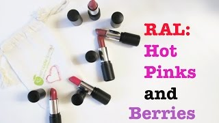 getlinkyoutube.com-Red Apple Lipstick - Berry and Hot Pink Lipstick Comparison Ft. Petal to the Metal and Unpinkable!