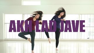 Akh Lad Jave choreography | Loveyatri | Ni Nachle | Dance Cover