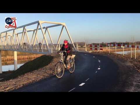 New Bicycle Bridge Near Berlicum (Netherlands)