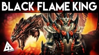getlinkyoutube.com-Monster Hunter Generations Black Flame King Rathalos Armor & Weapon Showcase