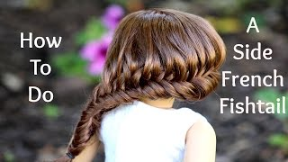 getlinkyoutube.com-How to Do a Side Braided Fishtail