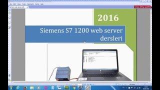 getlinkyoutube.com-Siemens Plc s7 1200 web server ders1