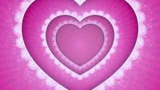 Футаж HD День Святого Валентина Сердца  скачать бесплатно