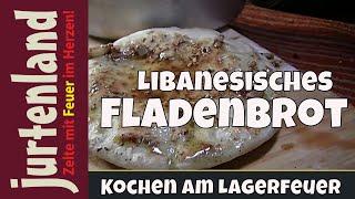 getlinkyoutube.com-Kochen am Lagerfeuer- Fladenbrot - Jurtenland