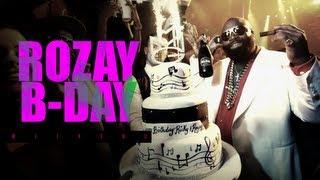 Rick Ross célèbre son anniversaire